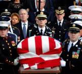 Retornan a Texas restos del expresidente George H. W. Bush