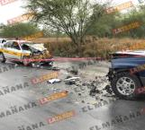 Muere taxista en choque