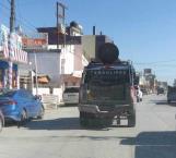 Se registran persecuciones y balaceras en Río Bravo