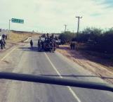 Reportan abatidos y heridos a la altura del puente Los Indios, en Matamoros