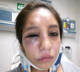 Golpean a una mamá afuera de un kínder en Matamoros