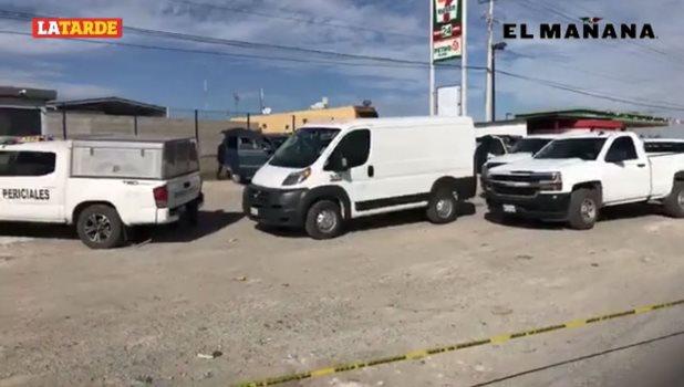 Abandonan en camioneta a un muerto y 4 amarrados