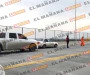 Ya no alcanzó a cruzar el puente Reynosa-Mission