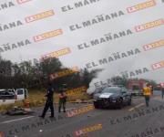 Deja carreterazo un muerto y 6 heridos en tramo Victoria-Matamoros