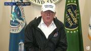 El presidente Trump visita la frontera en McAllen, Texas