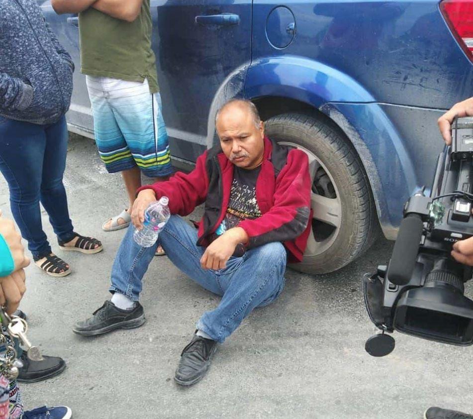 José Hernández aseguraba no haber escuchado sirenas ni visto torretas encendidas de la patrulla.