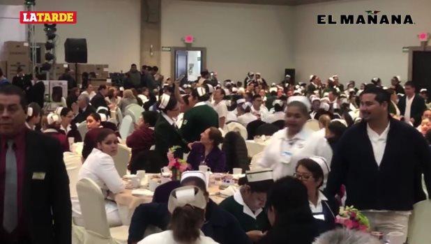 Celebra Ayuntamiento a enfermeras de Reynosa y reconoce su labor