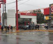 Atacan hombres armados a policías en Cadereyta