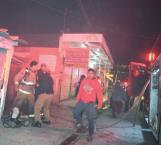 Drogadictos prenden fuego a cuartería