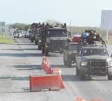 Más soldados para el combate con delincuentes