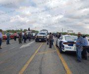 Realizan cuarto cierre del tramo carretero Victoria-Matamoros