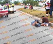 Joven obrero muere atropellado en acceso a Tampico