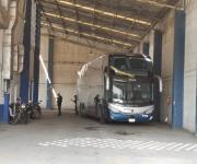 Interceptan a centroamericanos en autobús de ETN