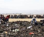 Accidente de avión en Etiopía, en imágenes