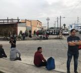 Manifestantes impiden acceso a personal de Agroquímicos, en Matamoros