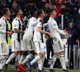 Hat trick de Cristiano en remontada de la Juve al Atleti