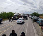 Reviven campesinos bloqueos en la carretera Victoria-Matamoros