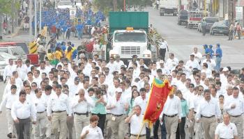 Las fiestas del petróleo marcaban una bonanza del Reynosa antiguo