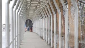 Prohibido instalarse en el Puente Internacional migrantes para asilo