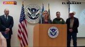 La crisis en frontera es real, no simulada Advierte Kirstjen Nielsen