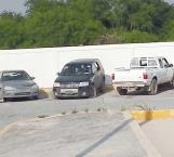 Aseguran camioneta abandonada Policías Estatales en San Valentín