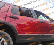 Aseguran camioneta tras persecución y balacera en Reynosa