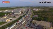 Pierden 30 mdp diarios camiones varados