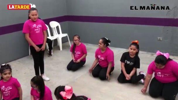 Buscan inclusión infantil a través de teatro integrador