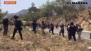 Disuelven caravana migrante en Chiapas
