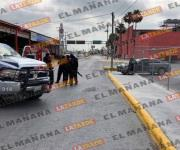 Concluye persecución con tres sujetos heridos en la colonia Doctores de Reynosa