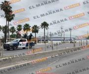 Operativo en carretera a Río Bravo tras robo de vehículo a mano armada