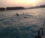 Rescata Semar a dos jóvenes a punto de ahogarse en Playa Dunas Doradas
