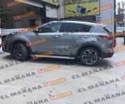 Aseguran camioneta con reporte de robo en Reynosa