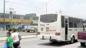 Piden a operadores del transporte público extremar precauciones