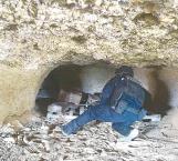 Encuentran una cueva con droga