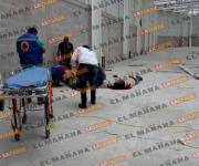 Caen 2 soldadores de una construcción en Altamira: uno muere