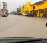 Pega tormenta en la Villa de Nuevo Progreso