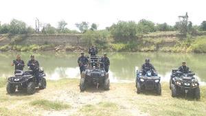 Integran cuatrimotos a los patrullajes de los Federales