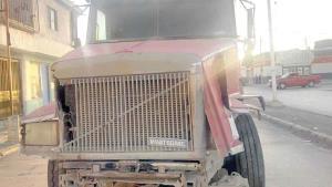 Comprometida situación de un camionero