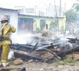 Devora incendio una vivienda