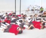 Participan en semana de seguridad escolar