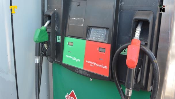 Frena alza a gasolina en frontera