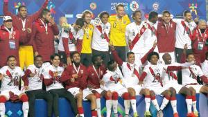 ¡Sorpresa, Perú es tercero!