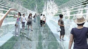 China construirá puente de cristal