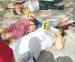 Matan familia de 5 en Río Bravo