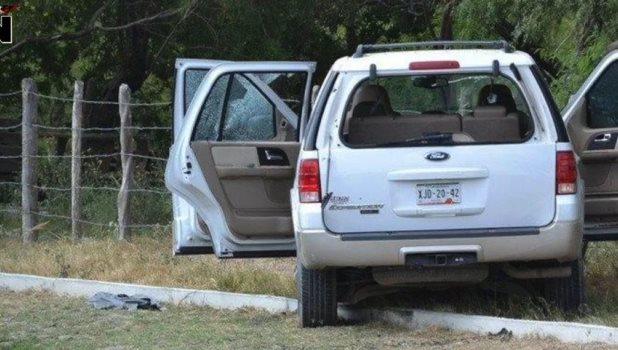 Ataca comando a convoy de Fuerza Tamaulipas