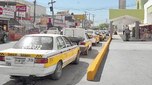 Baja la chamba para los taxistas