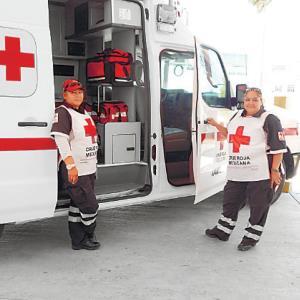 Aumentan traslados de la Cruz Roja local