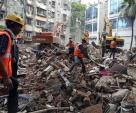 Se derrumba edificio en la India, hay 12 muertos