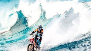 Surfea en dos ruedas